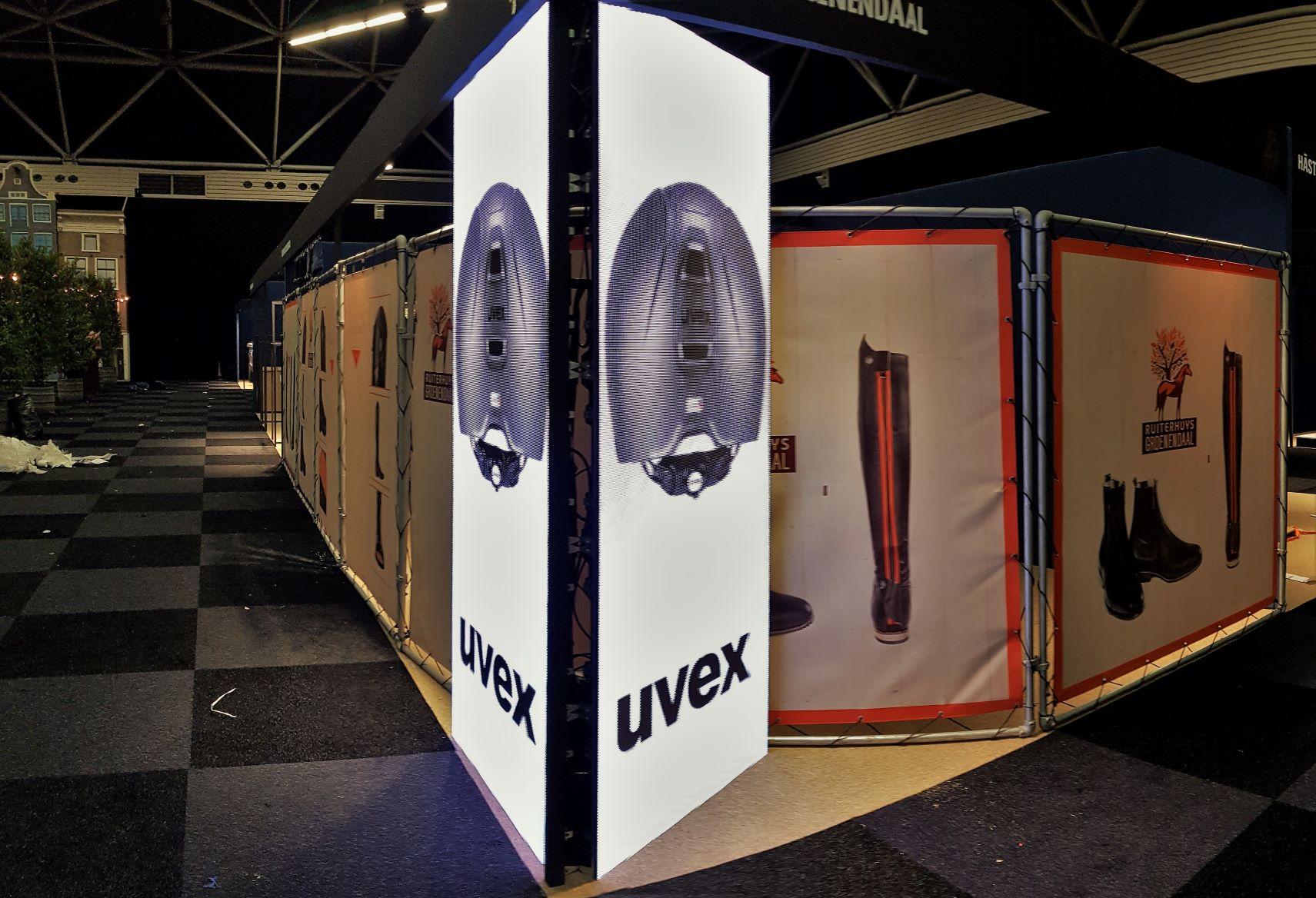 Led scherm P4.81 tijdens Juminping Amsterdam 2020