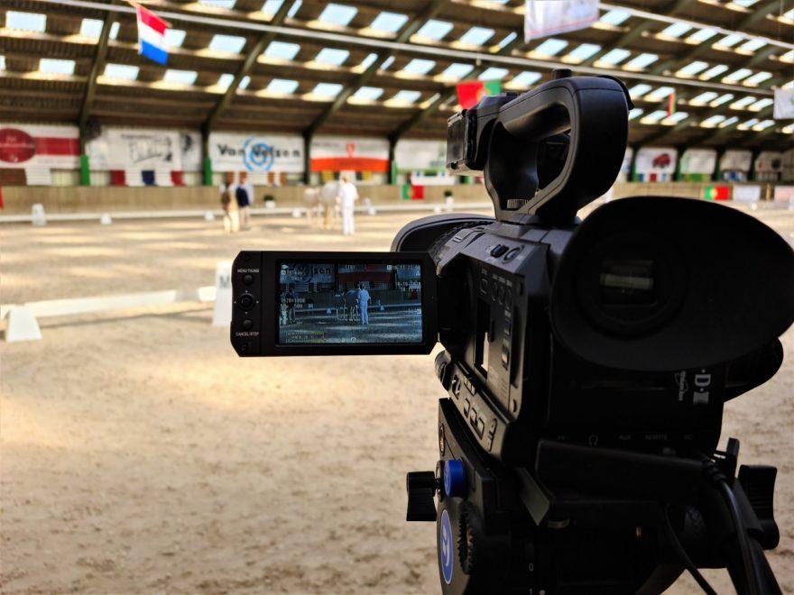 Livestream tijdens Internationaal Lusitanofestival en keuring 2020 in Bunschoten bij Stal Groenendaal